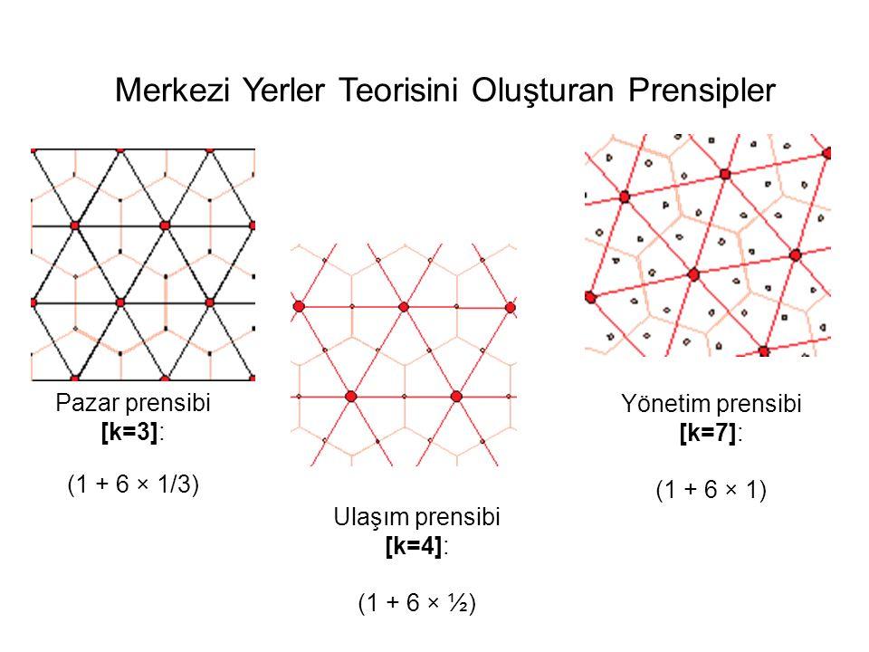 Pazar prensibi [k=3]: (1 + 6 × 1/3)